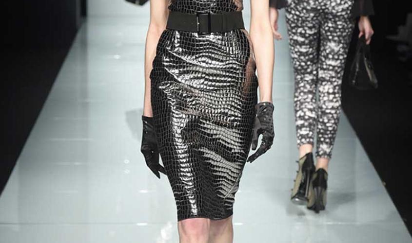Платье кожаное пошив на заказ Ателье по коже - 48