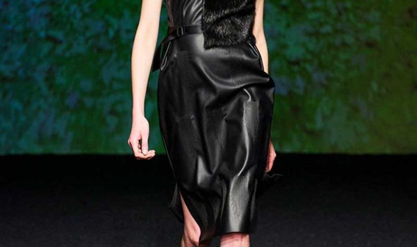 Платье кожаное пошив на заказ Ателье по коже - 50