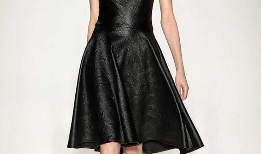 Платье кожаное пошив на заказ Ателье по коже - 51