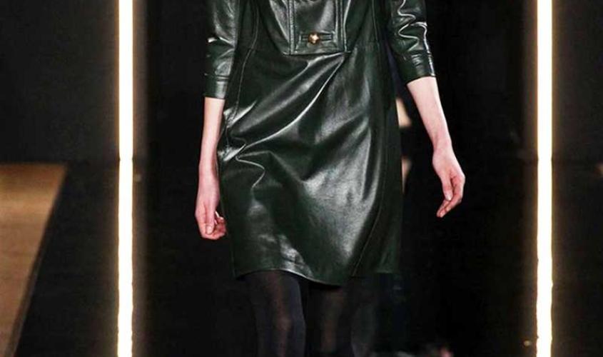 Платье кожаное пошив на заказ Ателье по коже - 54