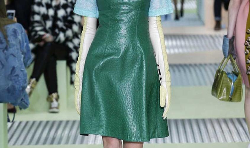 Платье кожаное пошив на заказ Ателье по коже - 57