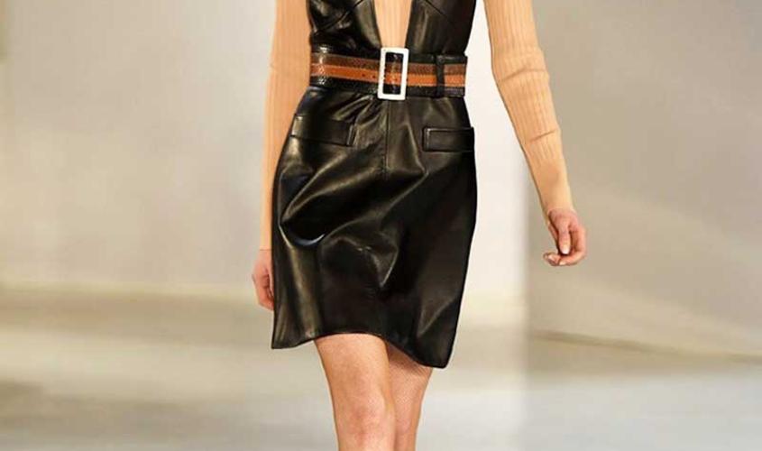 Платье кожаное пошив на заказ Ателье по коже - 59