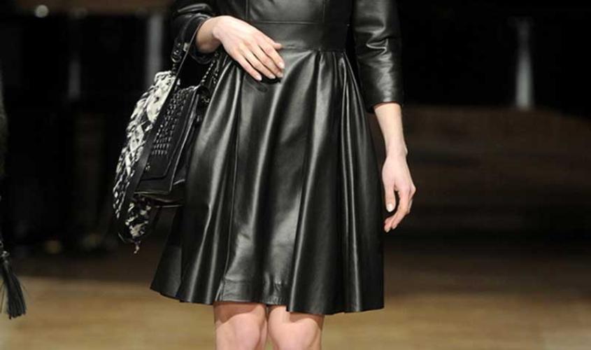 Платье кожаное пошив на заказ Ателье по коже - 60