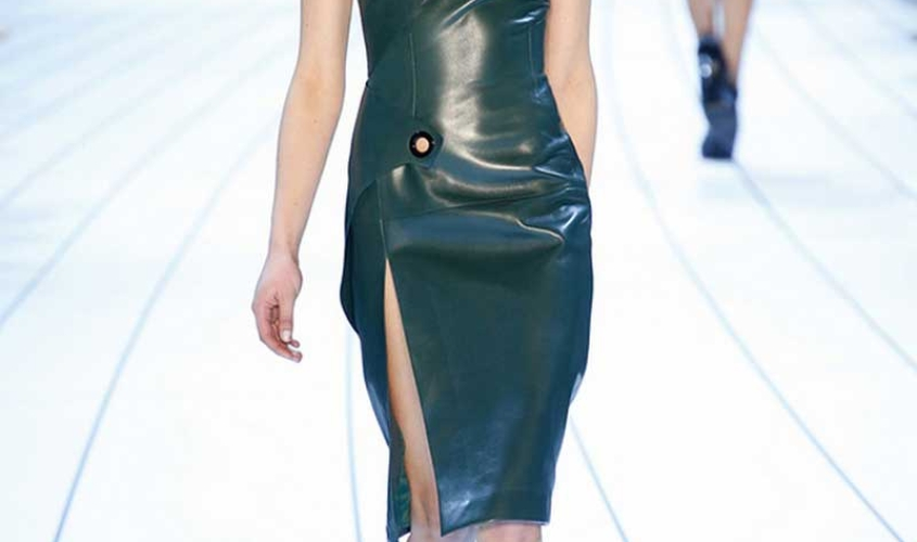 Платье кожаное пошив на заказ Ателье по коже - 62