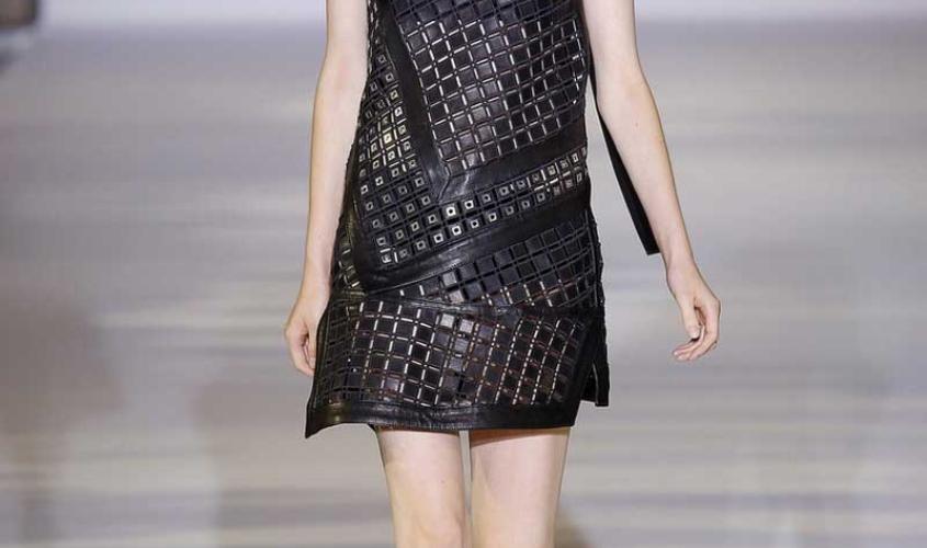 Платье кожаное пошив на заказ Ателье по коже - 64
