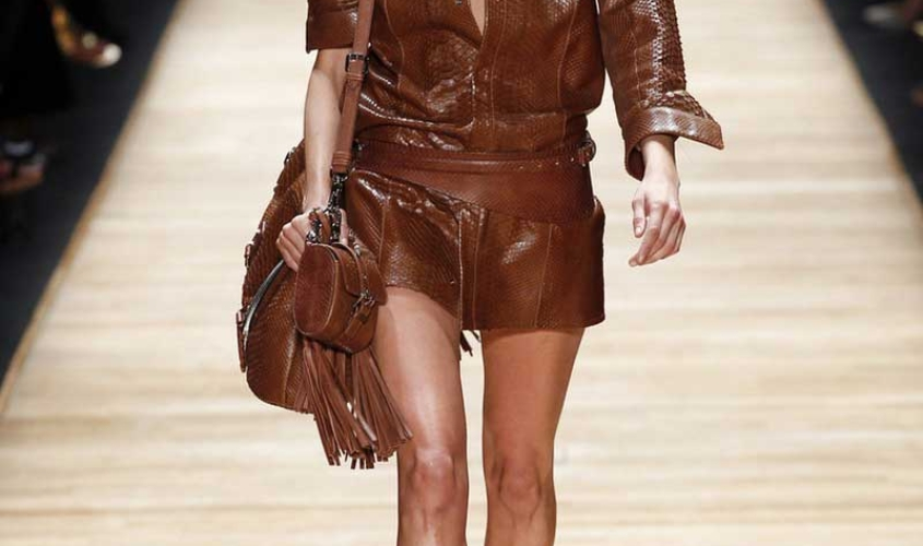 Платье кожаное пошив на заказ Ателье по коже - 66