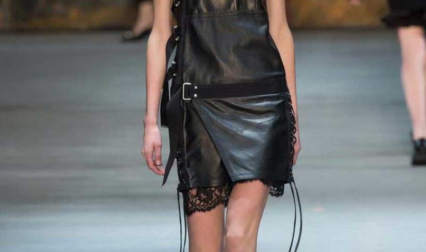 Платье кожаное пошив на заказ Ателье по коже - 67