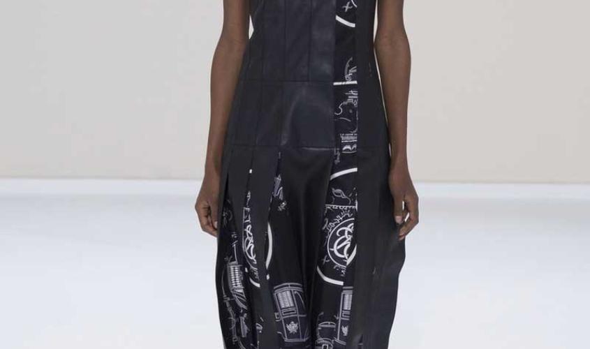Платье кожаное пошив на заказ Ателье по коже - 68