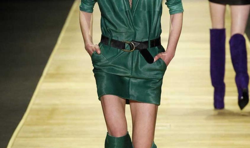 Платье кожаное пошив на заказ Ателье по коже - 74