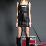 Платье кожаное пошив на заказ Ателье по коже - фото 77