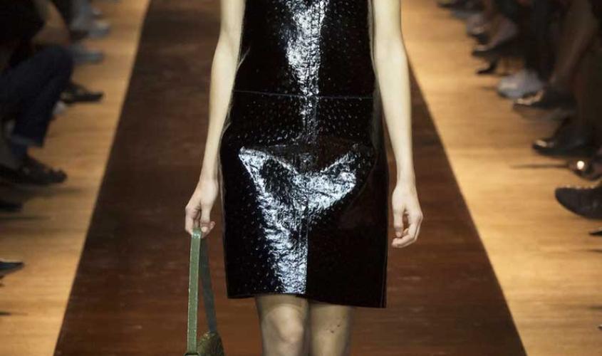 Платье кожаное пошив на заказ Ателье по коже - 80
