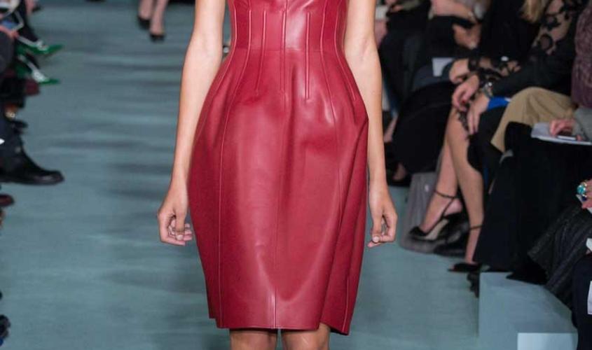 Платье кожаное пошив на заказ Ателье по коже - 84