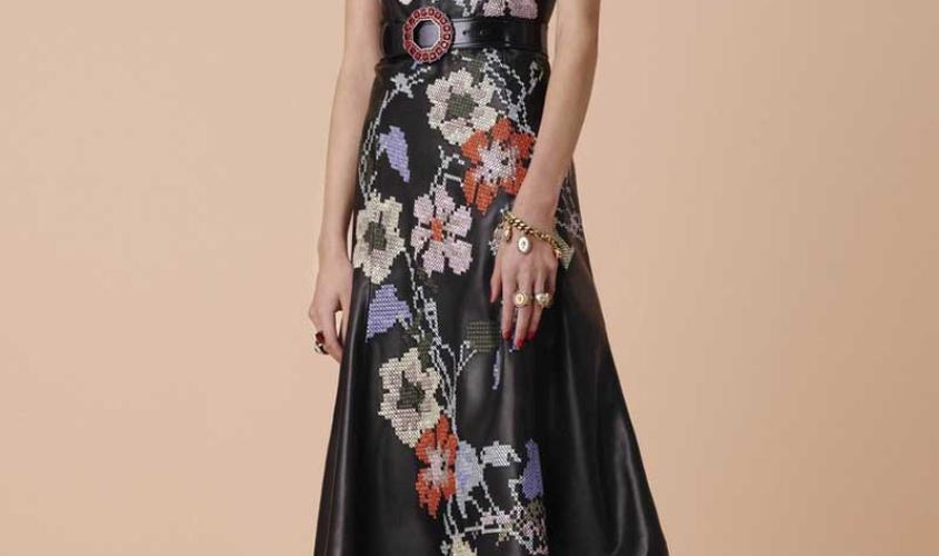 Платье кожаное пошив на заказ Ателье по коже - 85