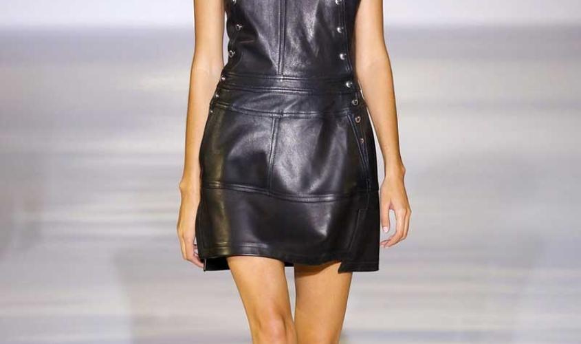 Платье кожаное пошив на заказ Ателье по коже - 88