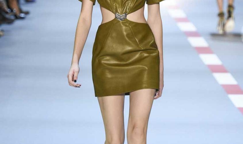 Платье кожаное пошив на заказ Ателье по коже - 91