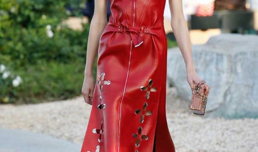 Платье кожаное пошив на заказ Ателье по коже - 92