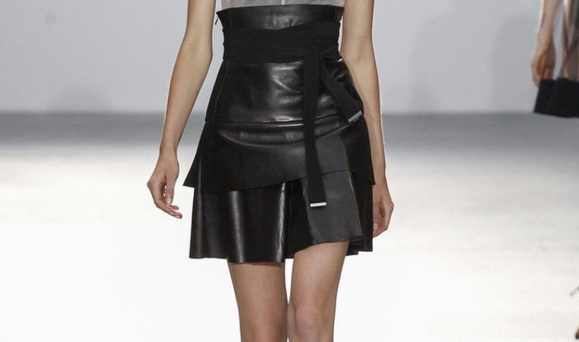 Кожаные юбки пошив на заказ Ателье по коже - 33