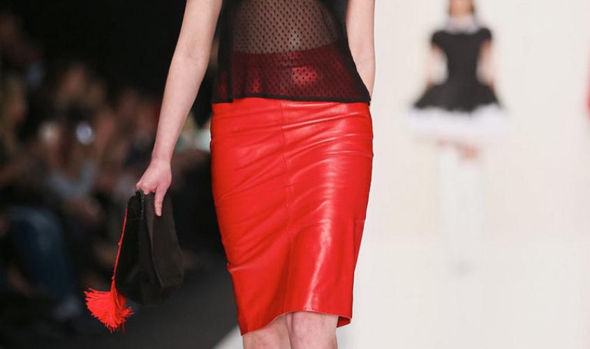 Кожаные юбки пошив на заказ Ателье по коже - 45
