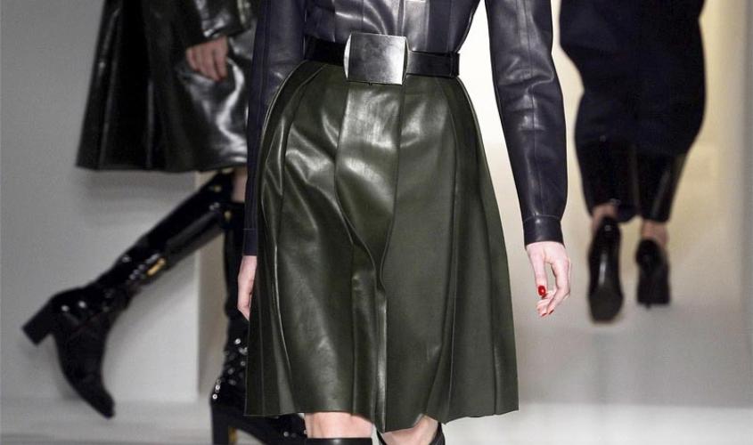 Кожаные юбки пошив на заказ Ателье по коже - 55