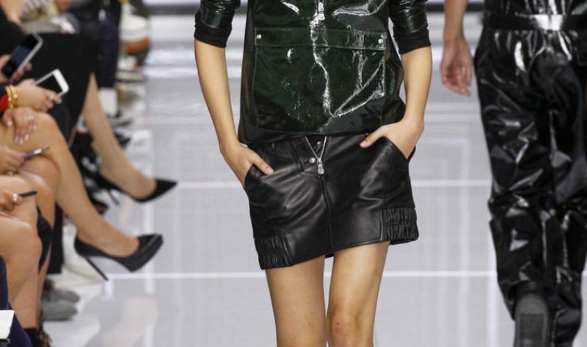 Кожаные юбки пошив на заказ Ателье по коже - 63