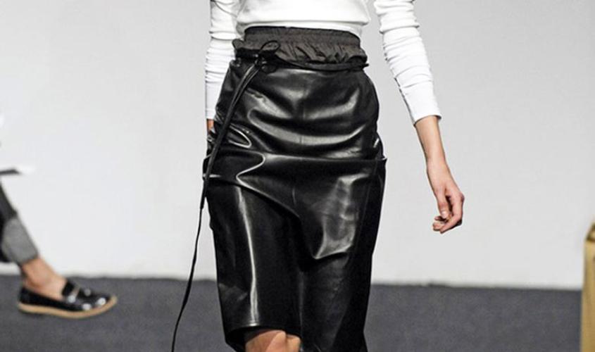 Кожаные юбки пошив на заказ Ателье по коже - 70