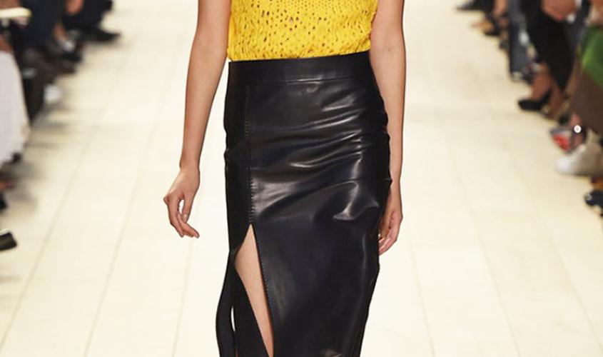Кожаные юбки пошив на заказ Ателье по коже - 71