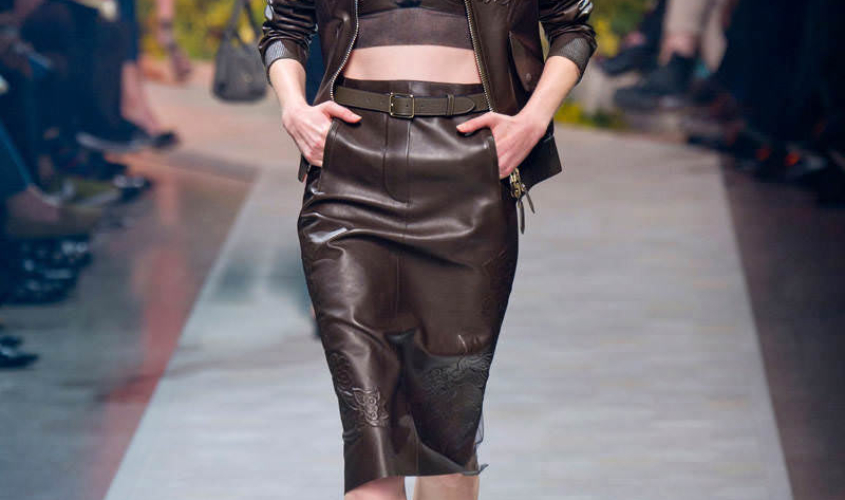 Кожаные юбки пошив на заказ Ателье по коже - 73