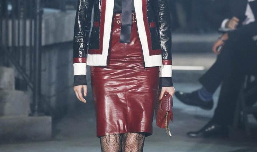 Кожаные юбки пошив на заказ Ателье по коже - 75