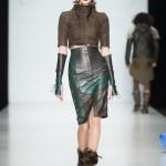 Модная кожаная юбка: пошив по индивидуальному заказу