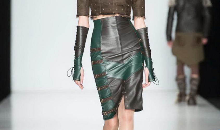 Кожаные юбки пошив на заказ Ателье по коже - 77