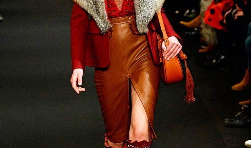 Кожаные юбки пошив на заказ Ателье по коже - 83