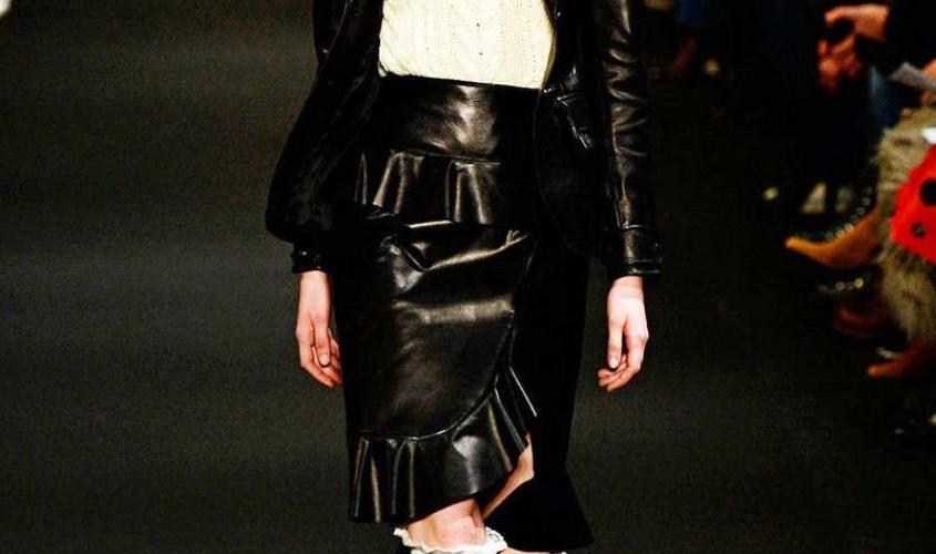 Кожаные юбки пошив на заказ Ателье по коже - 93