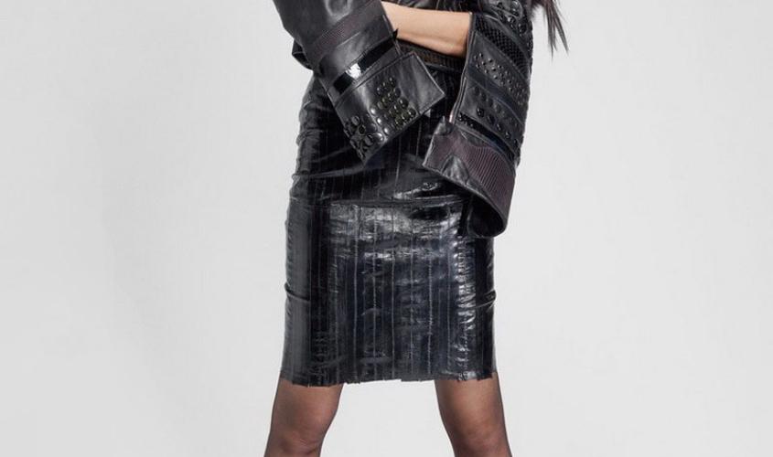 Кожаные юбки пошив на заказ Ателье по коже - 97