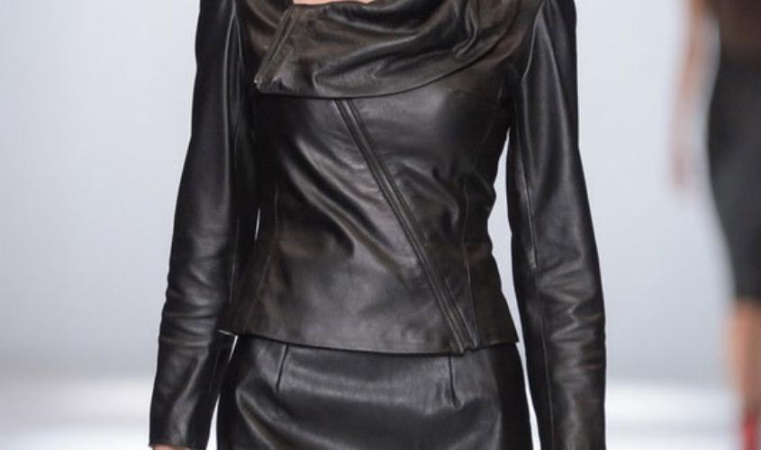 Кожаный костюм женский пошив Ателье по коже Чебоксары - 20