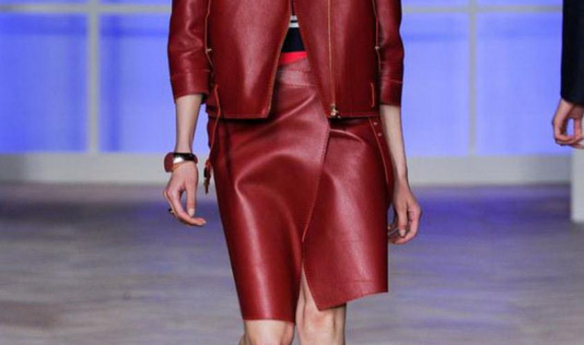 Кожаный костюм женский пошив Ателье по коже Чебоксары - 33