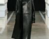 Кожаный плащ женский пошив в Ателье по коже - 41