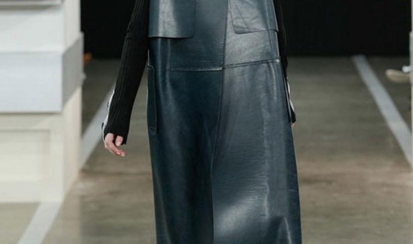 Кожаный плащ женский пошив в Ателье по коже - 42