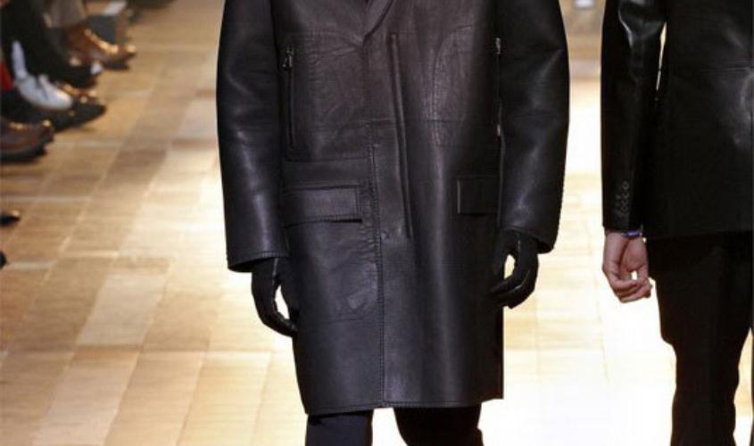 Кожаный плащ мужской пошив в Ателье по коже - 66