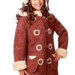 Модные детские дубленки из овчины и козлика