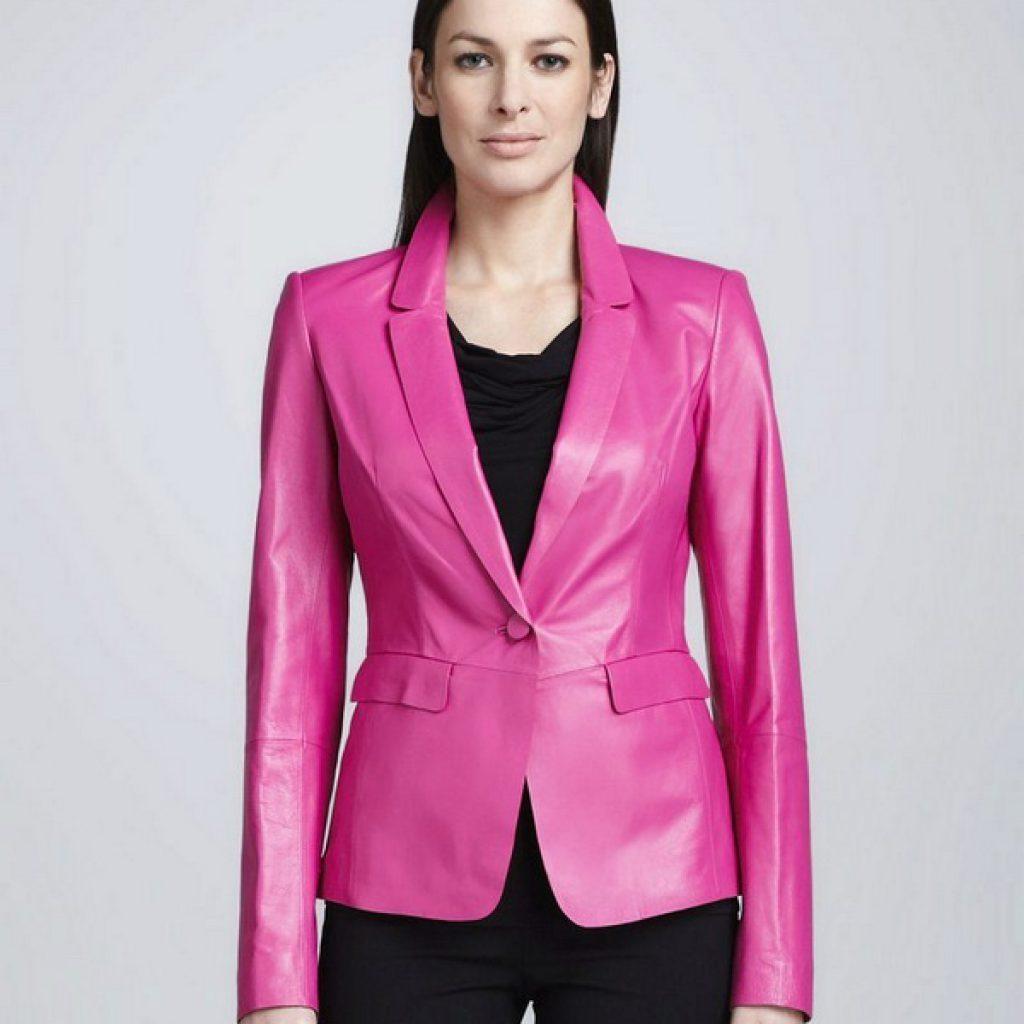 Кожаный пиджак женский пошив на заказ в Ателье по коже Чебоксары - фото 2
