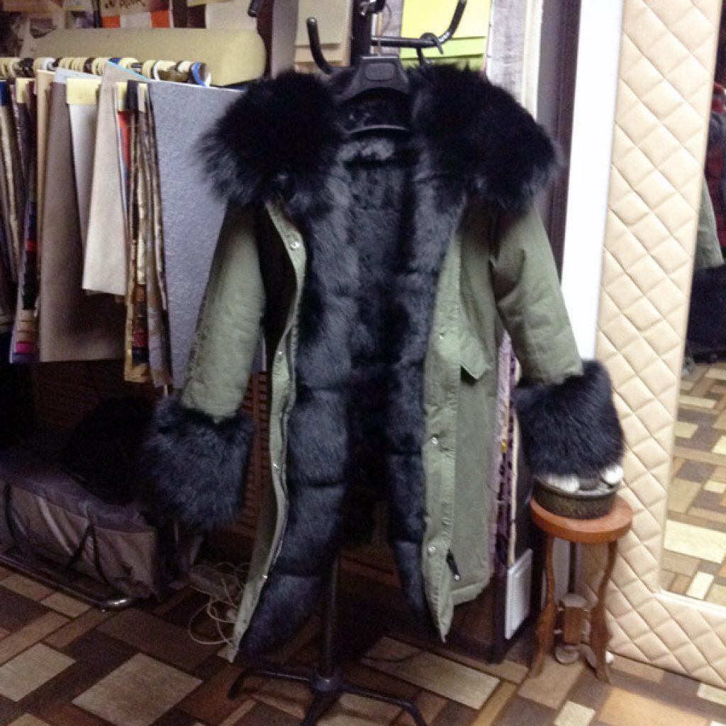 Куртка-парка женская в Ателье по коже Чебоксары