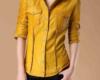 Женские рубашки кожаные пошив на заказ в Ателье по коже Чебоксары - 10