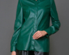 Женские рубашки кожаные пошив на заказ в Ателье по коже Чебоксары - 13