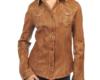 Женские рубашки кожаные пошив на заказ в Ателье по коже Чебоксары - 17