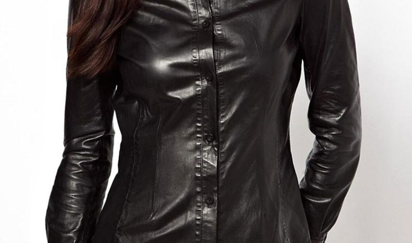 Женские рубашки кожаные пошив на заказ в Ателье по коже Чебоксары - 2