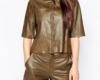 Женские рубашки кожаные пошив на заказ в Ателье по коже Чебоксары - 3