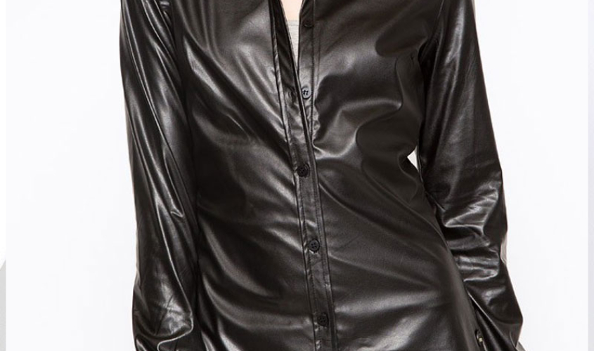 Женские рубашки кожаные пошив на заказ в Ателье по коже Чебоксары - 7