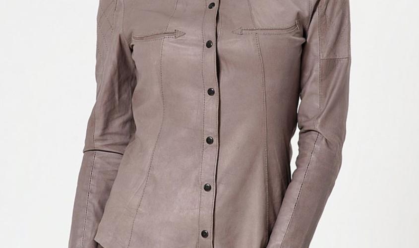 Женские рубашки кожаные пошив на заказ в Ателье по коже Чебоксары - 9