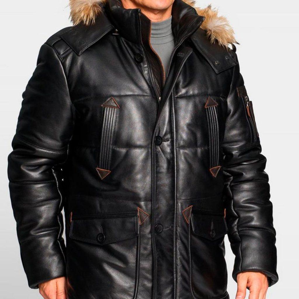 Куртки кожаные мужские 40 — Ателье по коже