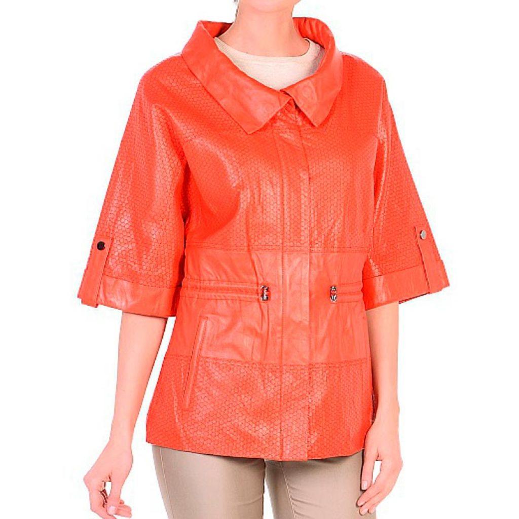 Куртка кожаная женская 13 — Ателье по коже